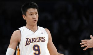 sun yue los angelese lakers