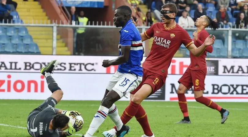 sampdoria as roma 0-0