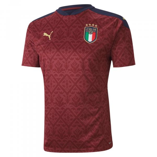 maglia rossa portiere italia europei