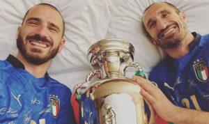 maglia italia campioni euro 2020
