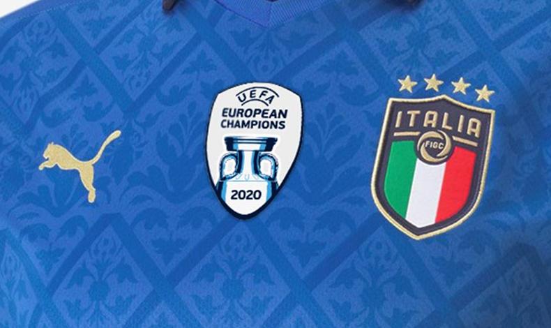 italia campione d'europa patch