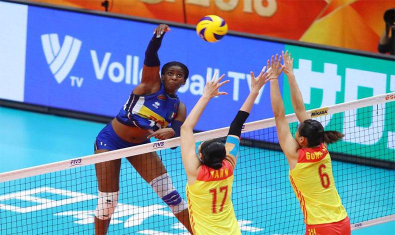 italia cina volley femminile olimpiadi